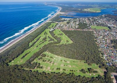 Arial View Shoalhaven Golf Course